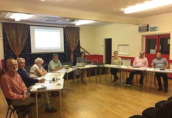 A Mattishall Parish Council meeting