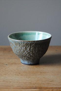 carved bowl stormy grey