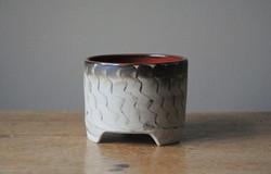 Three-footed pot
