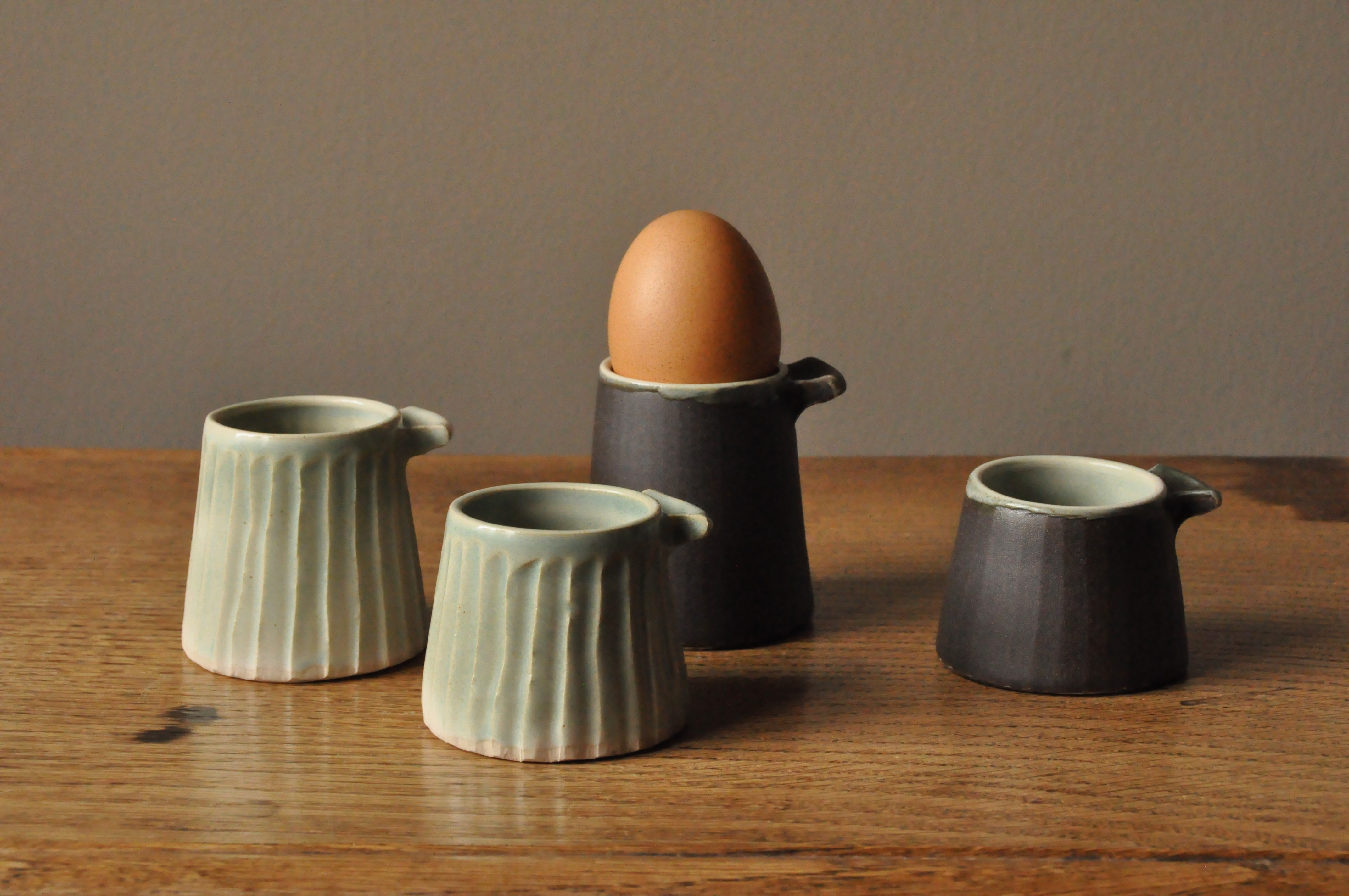 Eggcups (or mustard pots...or whatever you like little pots!)