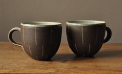 Pair of large cups
