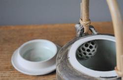 Inside of a teapot