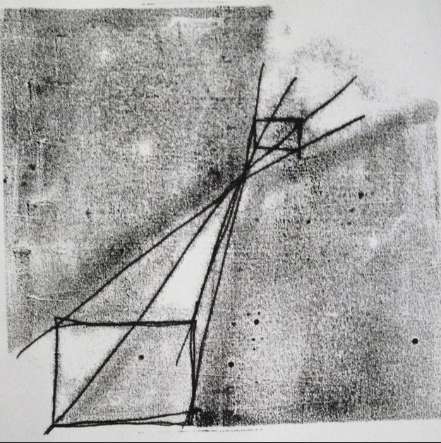 Untitled Monoprint III