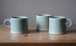 Little Celadon Cups