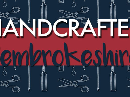 Come and see me at Handcrafted Pembrokeshire