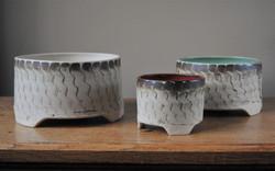 Three-footed Pots