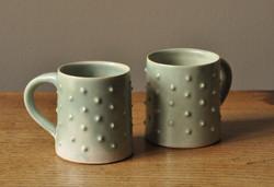 Bobbly mugs