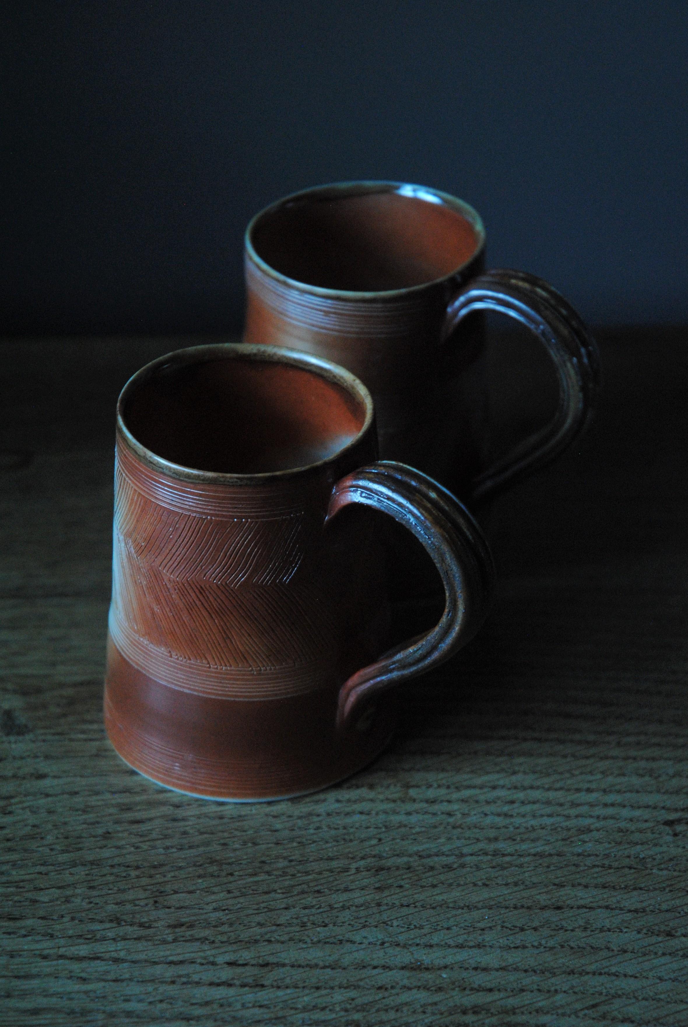 Herringbone mugs