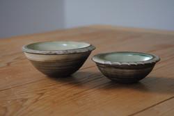 Tiny decorated bowls