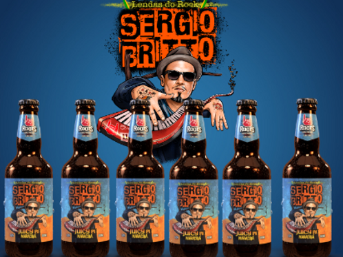 JUICY IPA - SERGIO BRITTO ( KIT 6 GARRAFAS 500 ML)