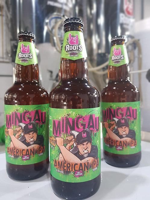 Kit com 4 garrafas American IPA - Lendas do Rock Nacional - MINGAU