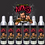 Thumbnail: kit 6 Garrafas de alumínio Pale Ale com Jambu - Nasi (473ml)