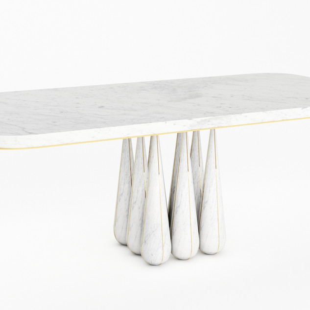 T9 MARBLE TABLE