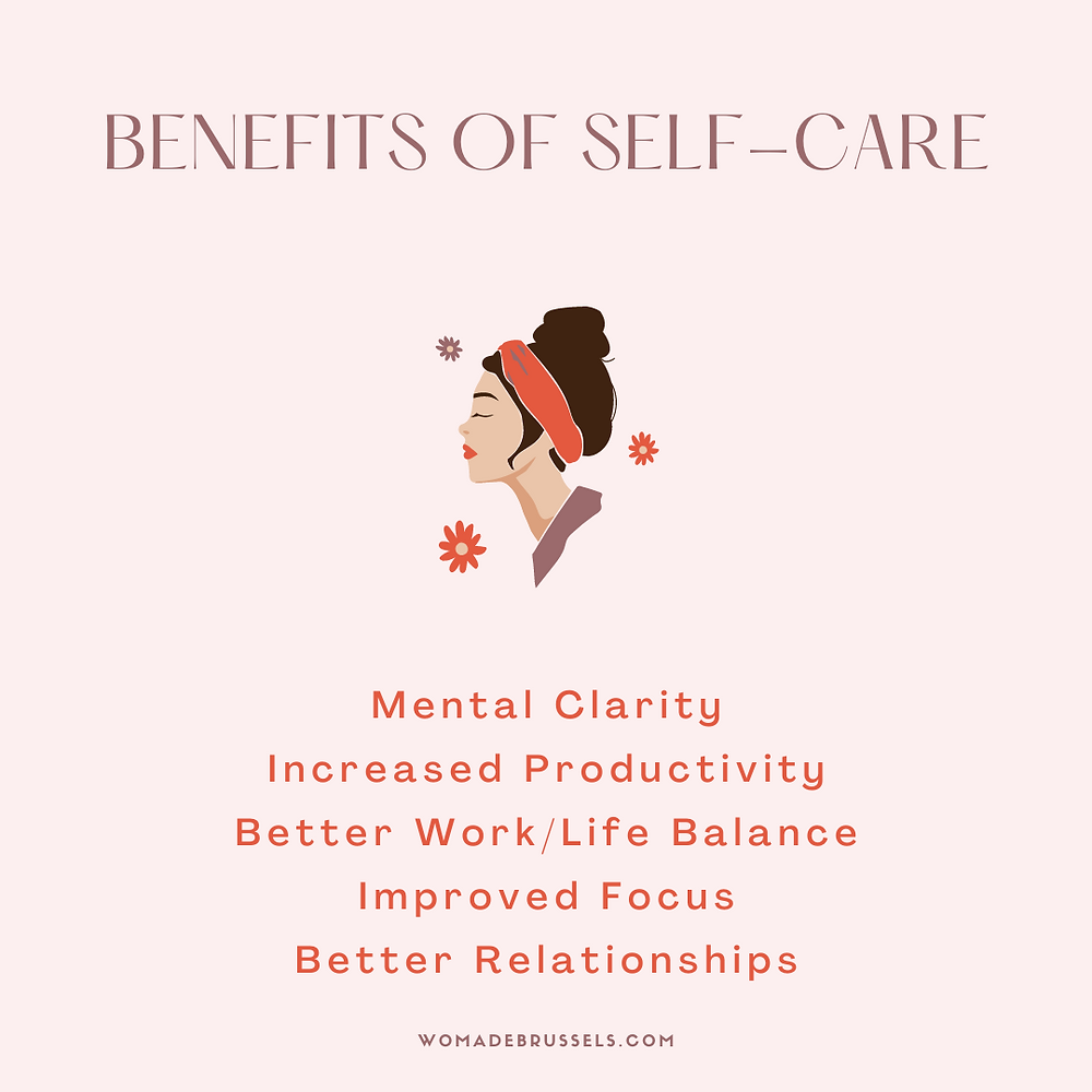 Benefits of self-care, self-care, Womade, community, womadebrussels, coworking
