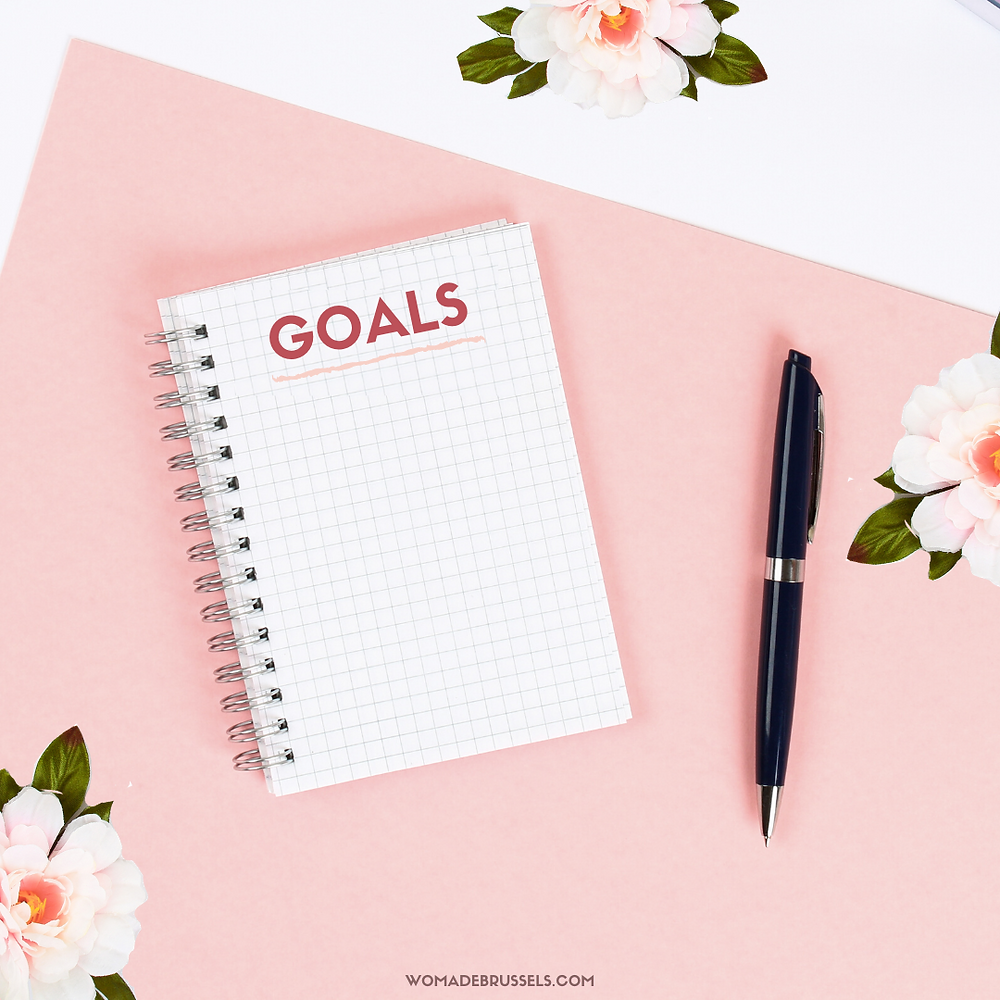 How to Set Your Business Goals in 4 Steps, Goals, 2021 goals, womade, womadebrussels, business, entrepreneur, entrepreneurs, women, coworking