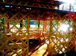 Терраса на берегу Катуни