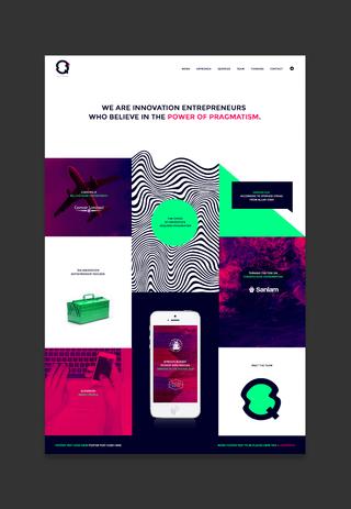 Q Division • Visual Identity and Website Design • 2017