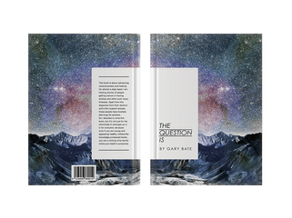 The Question Is • Book Cover Design • 2013