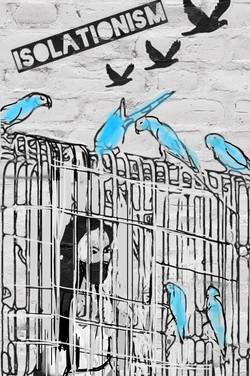 Isolationism no 1. isolation art