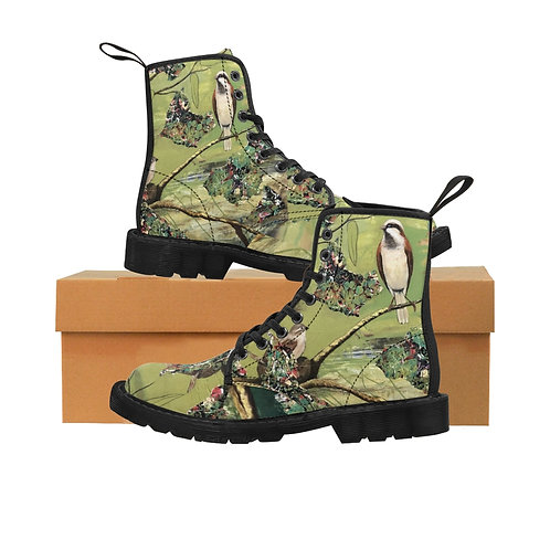 Sparrow Connection-Women's Canvas Boots