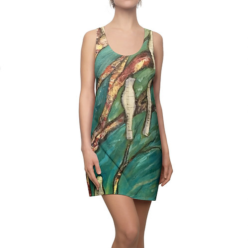 Music Birds- Women's Racerback Dress