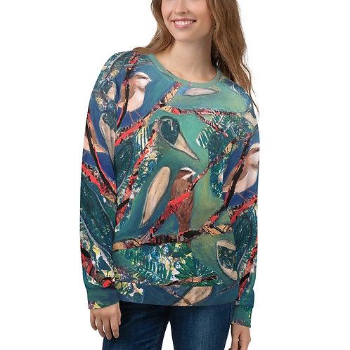 Blue bird- Unisex Sweatshirt