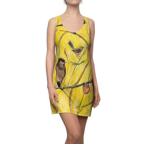 Yellow Bird- Women's  Racerback Dress