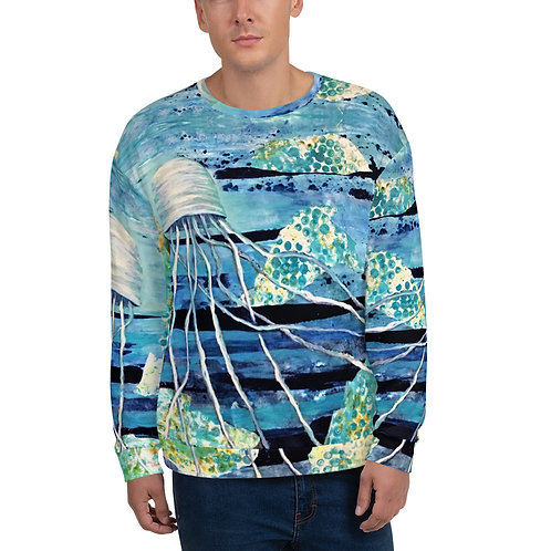 Jellyfish- Fleece top