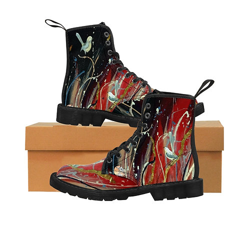 Gypst Kiss- Women's Canvas Boots