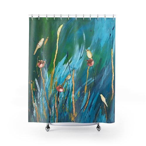 Seedlings- Shower Curtain