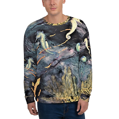 Midnight Sea- Unisex Sweatshirt
