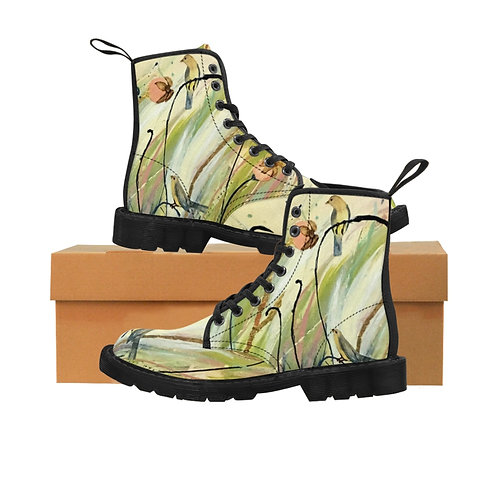 Gold Chance - Women's Canvas Boots