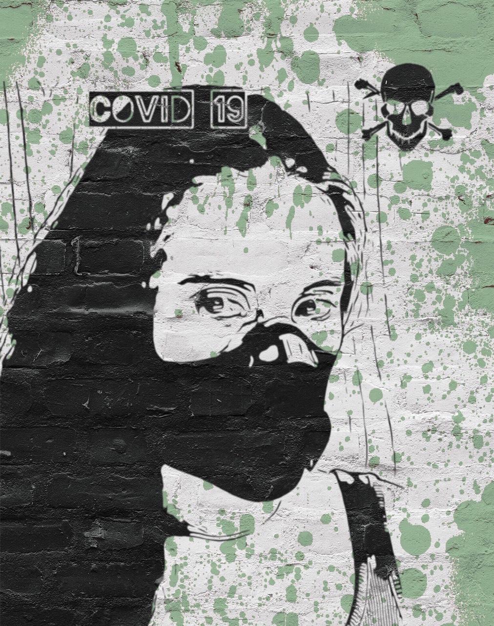 Covid19 . no 3 isolation art