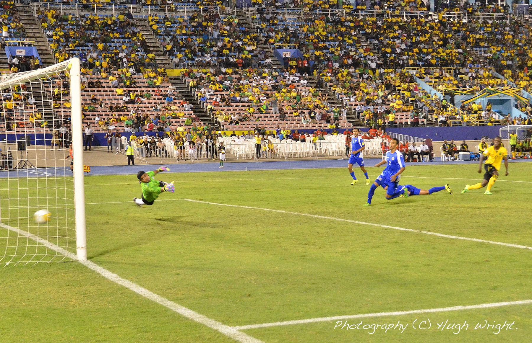 GOAL JAMAICA vs NICARAGUA