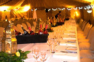 Creating venues with tents for events and parties