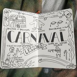 Carnaval Sketchnote