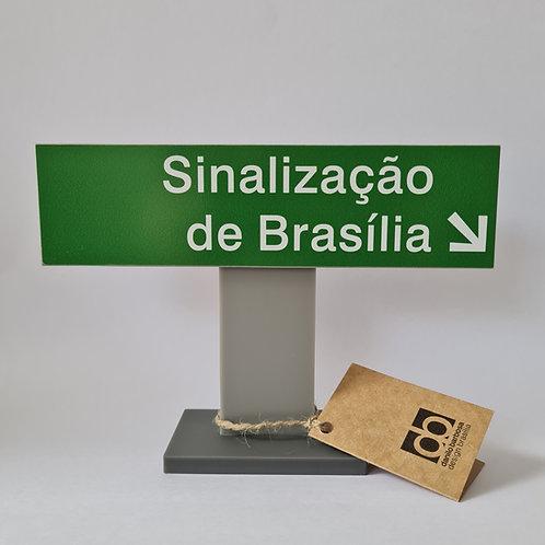 Placa de sinalização personalizada - grande