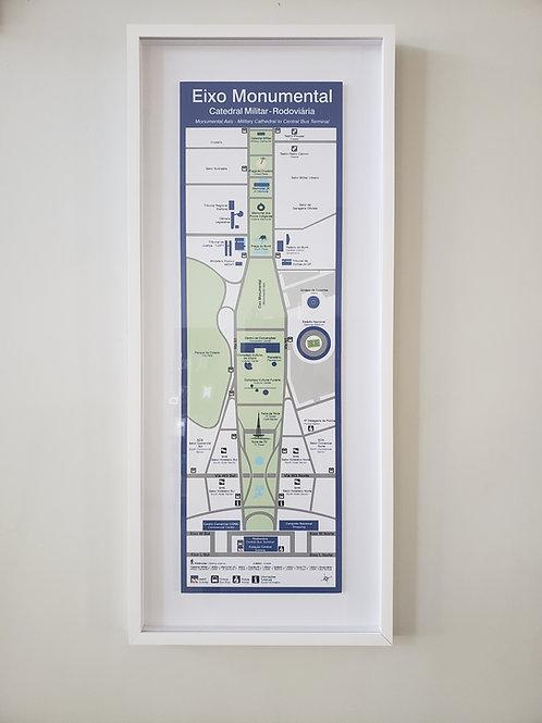 Mapa Eixo Monumental