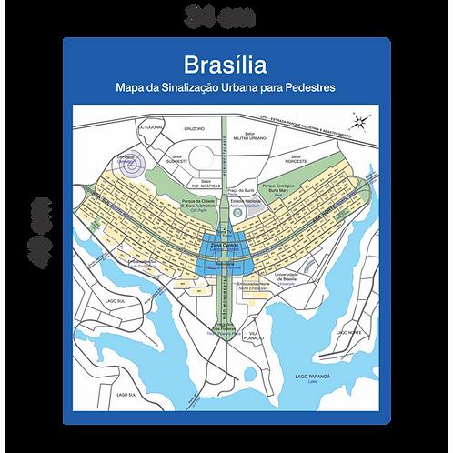 Mapa de Brasília