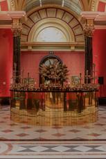4m Circular gold bar_National Gallery_VL