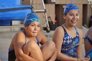 Please donate to Project 2020, a not-for-profit organization that teaches youth in California under served communities to swim and play water polo. Project 2020 was co-founded by Olympic gold medalist Brenda Villa and Skylar Dorosin.