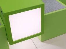Cubes bench