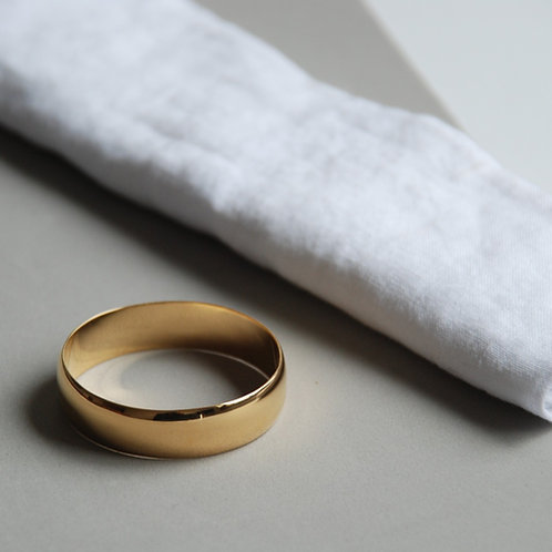napkin wedding rings