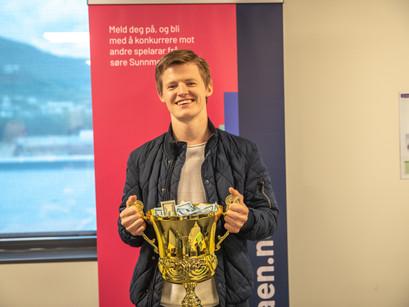 Emil er nordisk mester i FIFA 21!