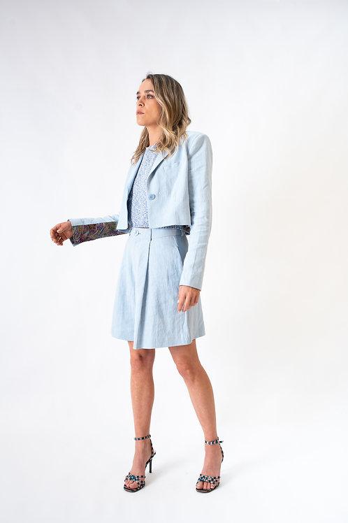 The Niçoise vest 2.0 blue (short)