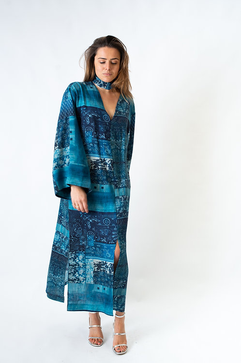 Kalamata kaftan dress Denim