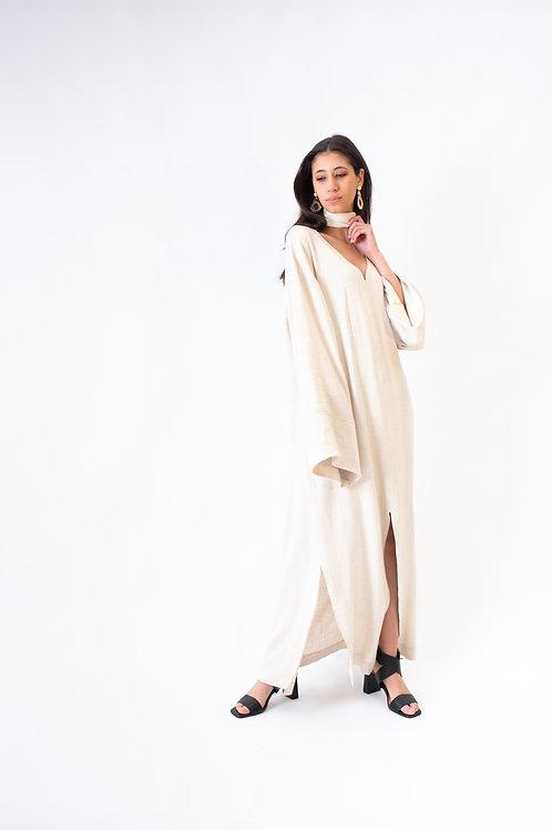 Kalamata kaftan dress Desert