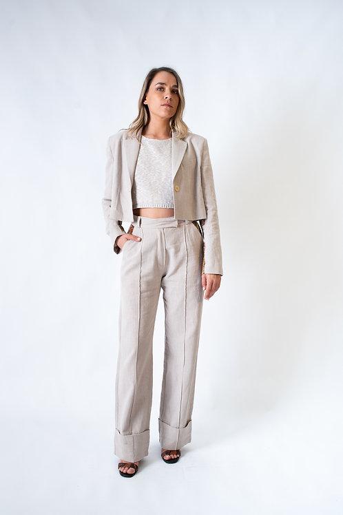 The Niçoise vest 2.0 desert (short)