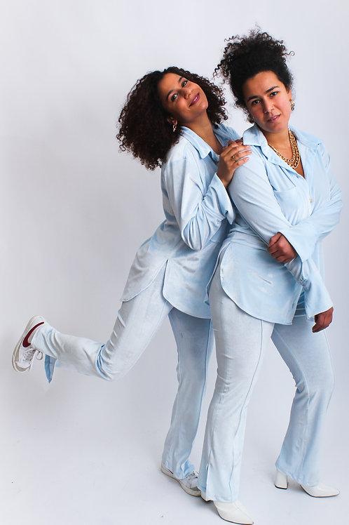 Cerignola pants baby blue
