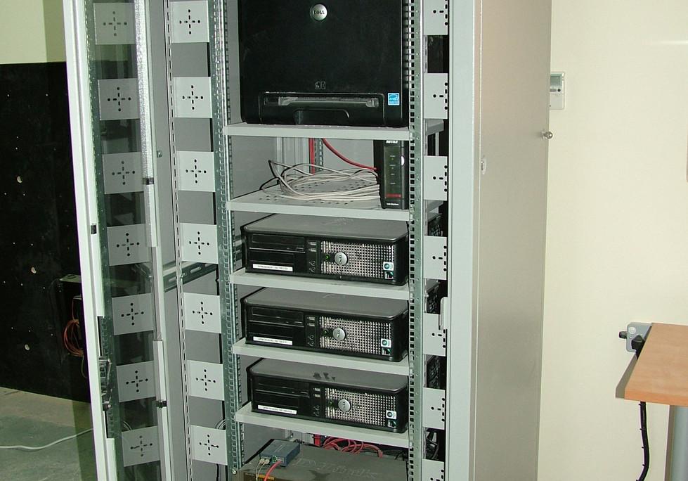 SCADA Server Rack